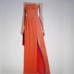 NWT BCBG CORAL MAXI DRESS